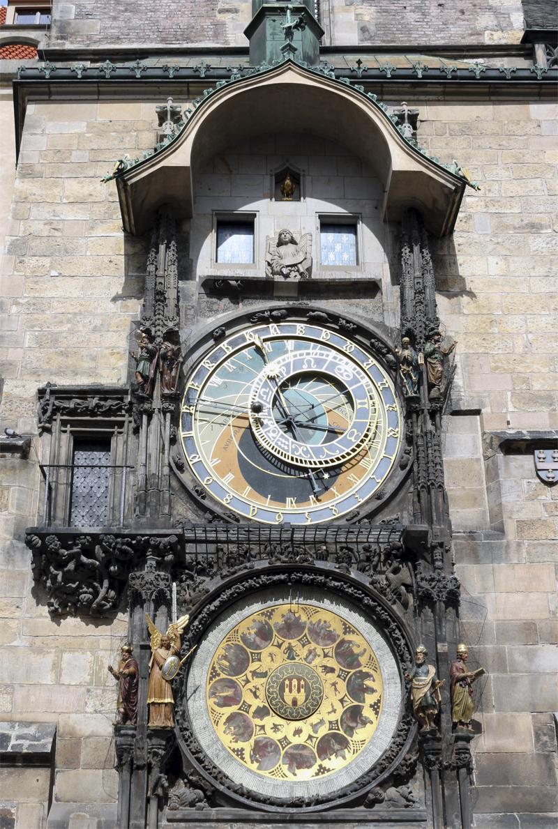 Астрономические часы в Праге на Староместской площади